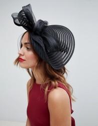 Coast Bow Hat Fascinator - Black
