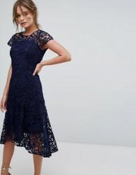 Coast Candice Lace Dress - Navy