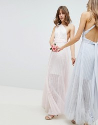 Coast Corwin Multi Tie Maxi Dress - Pink