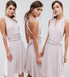 Coast Corwin Multi- Tie Mini Dress - Pink