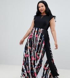 Coast Curve Katy print maxi dress - Multi