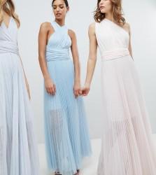 Coast Exclusive Corwin Multi Tie Maxi Dress - Blue