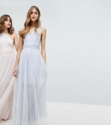 Coast Exclusive Corwin Multi Tie Maxi Dress - Silver