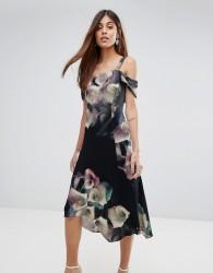 Coast Floral Print Soft Shift Dress - Multi