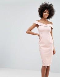 Coast Neutral Sexy Dress - Pink