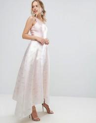 Coast Pearl Metallic Full Dress - Pink