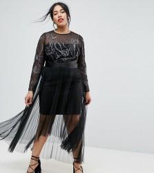 Coast Plus Beau Maxi Dress - Black