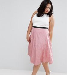 Coast Plus Bianca 2 In 1 Collared Prom Dress - Pink