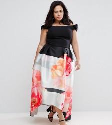 Coast Plus Lottie Red Carpet Skirt - Multi