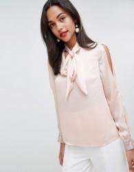 Coast Sequin Cuff Blouse - Pink