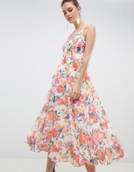 Coast Shannon Tropicana Dress - Multi