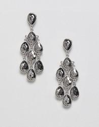 Coast Statement Teardrop Earrings - Silver