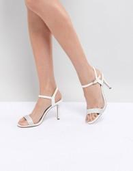 Coast Strappy Glitter Heel Shoes - White