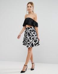 Coast Wren Mono Skirt - Black