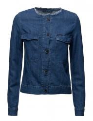 Collarless Jacket Summer Breeze