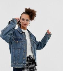 COLLUSION oversized denim jacket - Blue