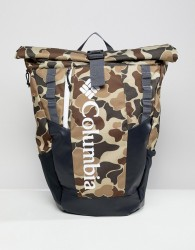 Columbia Convey 25L Rolltop Daypack in Camo - Multi