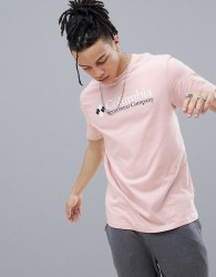 Columbia Logo T-Shirt in Pink - Pink