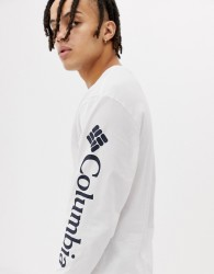 Columbia North Cascades Long Sleeve Top in White - White