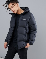 Columbia Pike Lake Hooded Jacket in Black - Black
