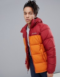 Columbia Pike Lake Hooded Jacket in Red - Red