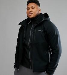 Columbia PLUS Cascade Ridge Softshell Jacket in Black - Black