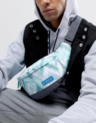 Columbia Urban Uplift Lumbar Bag in Wind Print - White