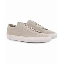 Common Projects Achilles Sneakers Light Grey Suede