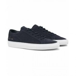 Common Projects Achilles Sneakers Navy Suede