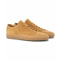 Common Projects Original Achilles Leather Sneakers Beige Suede