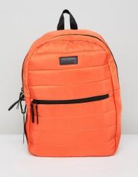 Consigned Quilted Backpack In Orange - Orange