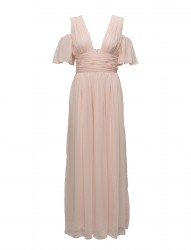 Constance Drape Cold Shoulder Maxi Dress