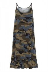 Continue - Kjole - Mia Dress - Army Camouflage