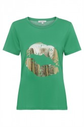 Continue - T-shirt - Dea - Green