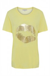 Continue - T-shirt - Dea - Yellow