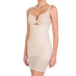 Conturelle by Felina Felina Conturelle Silhouette Dress - Beige * Kampagne *