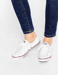 Converse All Star Dainty Ox Trainers - White