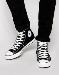 Converse All Star Hi Plimsolls In Black M9160C - Black