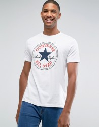 Converse Chuck Patch T-Shirt In White 10002848-A02 - White