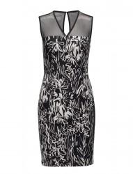 Copley Cotton S/Lss Vnk Dress