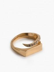 Cornelia Webb Warped Signet Ring S Ringe