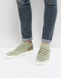 Cortica City Hybrid Knit Trainers In Khaki - Green