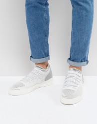 Cortica City Hybrid Knit Trainers In White - White