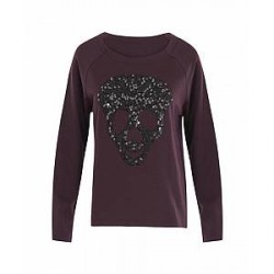 Coster Copenhagen Sweat 134-2421 (Bordeaux, LARGE)