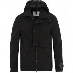 C.P. Company Goggle Hooded Jacket Black