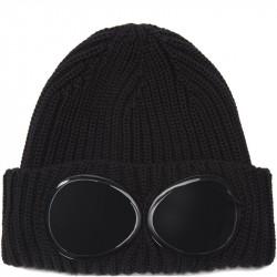 C.P. Company Goggle Logo Knit Cap Sort