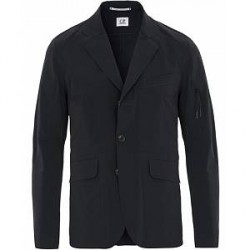C.P. Company Lazer Cut Stretch Blazer Navy