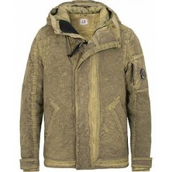 C.P. Company Nycra Dyed Water Resistant Jacket Light Military
