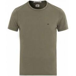 C.P. Company Short Sleeve Logo T-Shirt Military Green