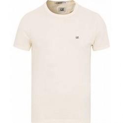 C.P. Company Short Sleeve Logo T-Shirt Off White